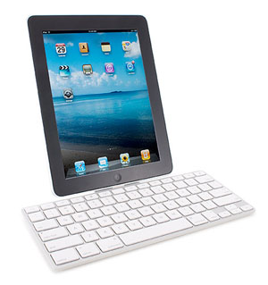 iPad with Keyboard and Dock