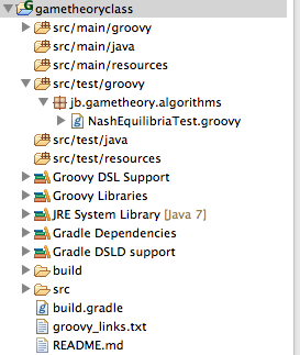 creating a groovy project with gradle in eclipse | Down Home Country