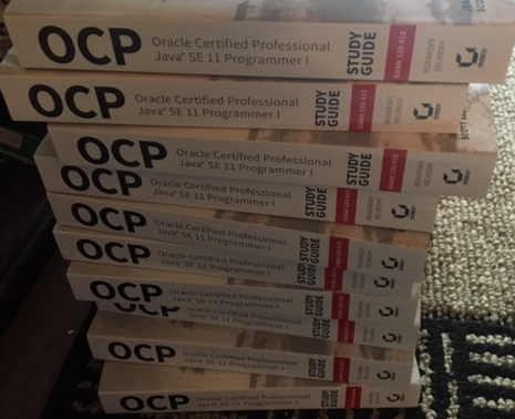 Exam 1Z0-815 and Exam 1Z0-816 OCP Oracle Certified Professional Java SE 11 Developer Complete Study Guide